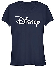 Women's Disney Logo Basic Disney Logo Short Sleeve T-shirt