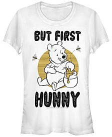 Women's Winnie the Pooh First Hunny Short Sleeve T-shirt