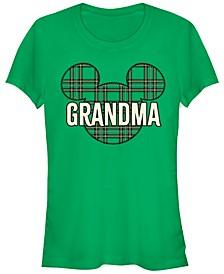 Women's Disney Mickey Classic Grandma Holiday Short Sleeve T-shirt