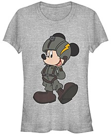 Women's Disney Mickey Classic Mickey Jet Pilot Short Sleeve T-shirt
