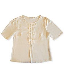 Short Sleeve Ruffle Top, Created for Macy's