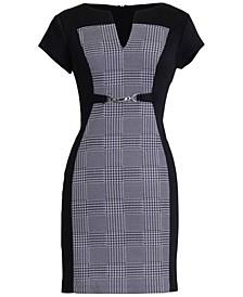 Petite V-Neck Sheath Dress