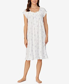 Knit Cotton Waltz Nightgown