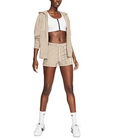 Gym Vintage Hoodie & Shorts Set