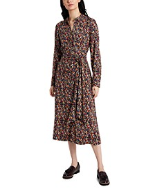 Macey Floral-Print Midi Dress, Created for Macy's