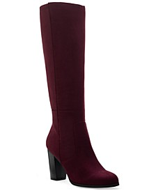 Addyy Wide-Calf Dress Boots, Created for Macy's