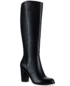 Addyy Extra Wide-Calf Dress Boots, Created for Macy's