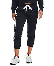 Rival Fleece Metallic Joggers