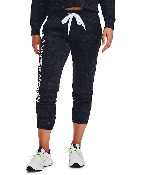 Under Armour Rival Fleece Metallic Joggers