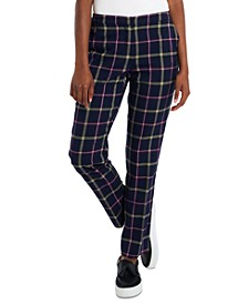 Riley Slim Plaid Trouser Pants, Created for Macy's