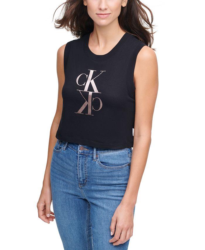 Calvin Klein Jeans - Cotton Logo Tank Top
