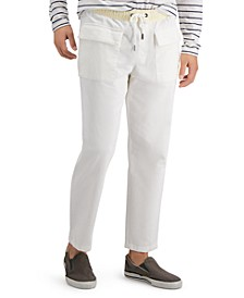 Men's Phillip Relaxed-Fit Stretch Corduroy Drawstring Pants