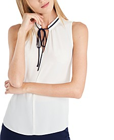 Abbey Solid Sleeveless Top, Created for Macy's