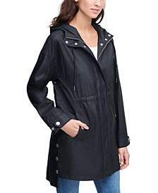 High-Low Snap-Side Jacket