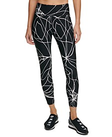 Sport Amaryllis Printed High-Waist Leggings