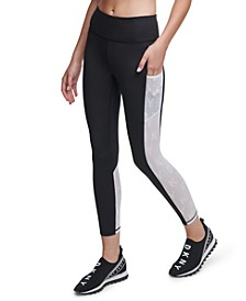 Sport Contrast-Panel High-Waist Leggings