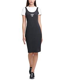 DKNY Sport Layered-Look Dress