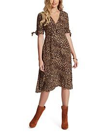 Cecilia Printed Midi Dress