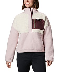 Lodge Pullover Fleece Jacket
