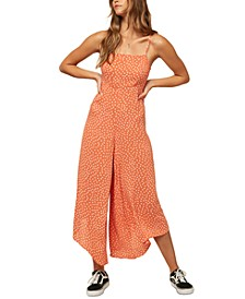 Juniors' Jaladra Printed Jumpsuit