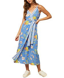Juniors' Palmie Printed Maxi Dress