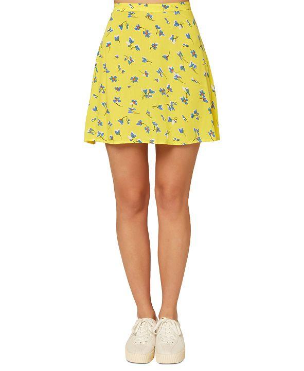 O'Neill Juniors' Sindra Floral-Print Skirt