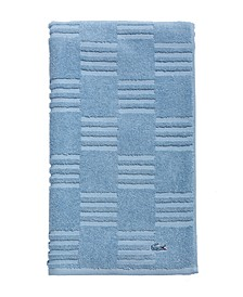 "CLOSEOUT! Sculpted Squares 30"" x 54"" Bath Towel"