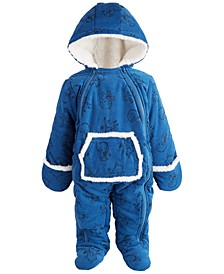 Baby Boys Corduroy Snowsuit, Created for Macy's