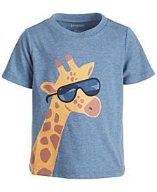 Baby Boys Short Sleeve Cool Giraffe Tee, Created for Macy's