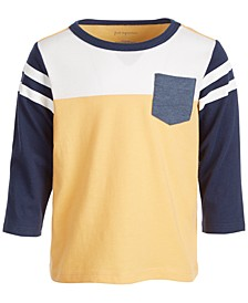 Baby Boys Sporty Colorblock Tee, Created for Macy's