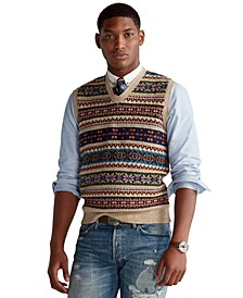 Men's Fair Isle Sweater Vest
