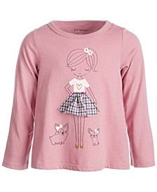 Baby Girls Town Girl Tee, Created for Macy's