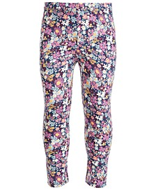 Baby Girls Ditsy Floral-Print Leggings, Created for Macy's
