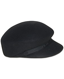 Wool Felt Newsboy Hat