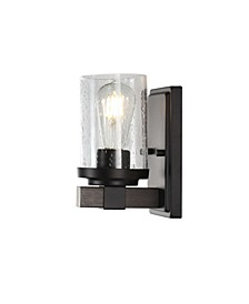 Bungalow 1-Light Rustic Farmhouse LED Vanity Light