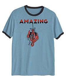 The Amazing Spiderman Upside Down No Bad Vibes Big Boys T-shirt