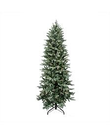 Pre-Lit Slim Washington Frasier Fir Artificial Christmas Tree