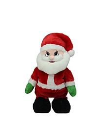 Animated Tickle 'N Laugh Santa Claus Plush Christmas Figure