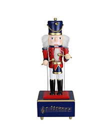 Animated and Musical Christmas Nutcracker Drummer