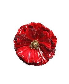 Contemporary Poppy Christmas Clip