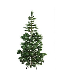 Pre-Lit Medium Pine Artificial Christmas Tree