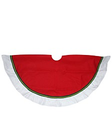 Border Accents Christmas Tree Skirt