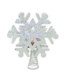 Lighted Snowflake Christmas Tree Topper