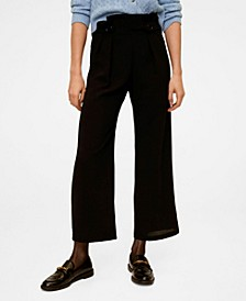 Buttons Culottes Trousers