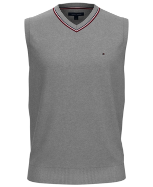 Tommy Hilfiger Men's Jackson Regular-Fit V-Neck Sweater Vest