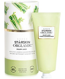 Orglamic Celery Juice Healthy Hybrid Cleansing Balm, 0.5-oz.