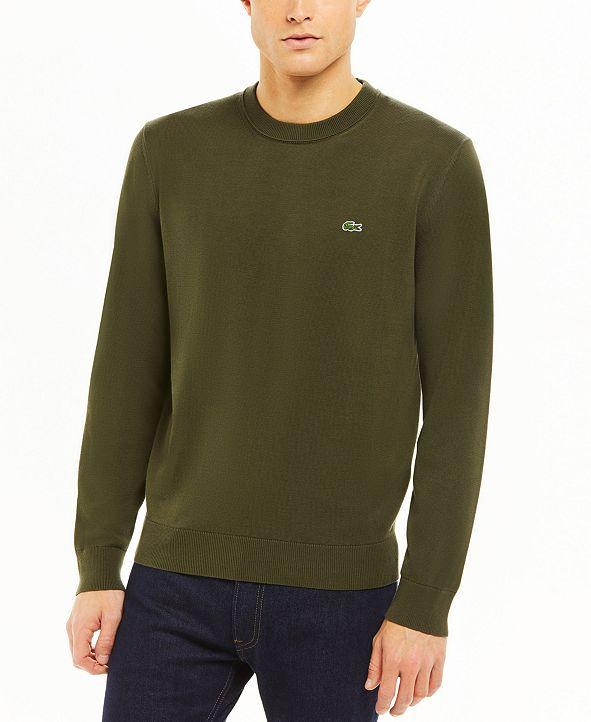 Lacoste Men's Cotton Sweater