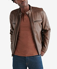 Men's Retro Leather Jacket