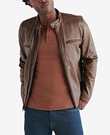 Men's Retro Leather Jacket