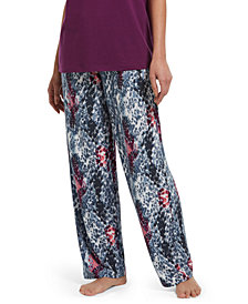 HUE® Printed Knit Sleep Pants